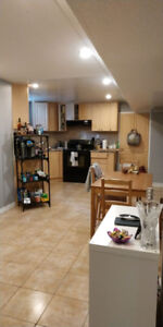 Basement Apt for Rent Available Oct 1, 2018
