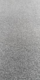 Grey carpet offcut.