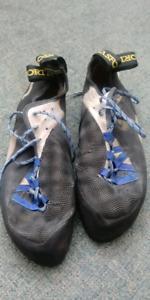 La Sportiva Barracuda climbing shoes size 43