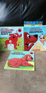 Kids Clifford the big red dog books -10