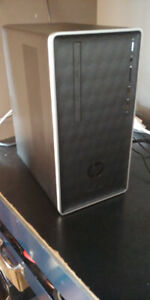 PC HP GAMER (QUADCORE) + 8GB DDR4 + 2TB + GTX 1050 Ti 4GB + WIFI
