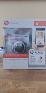Motorola MBP85CONNECT Wi-Fi Video Baby Monitor Camera