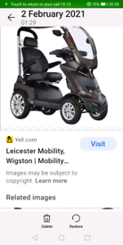 Royal drive disabled scooter