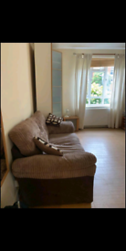 Light brown sofabed (very good condition)