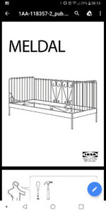 IKEA MELDAL daybed for sale - $150