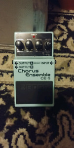 Chorus Emsemble CE-5 and a Phase Shifter PH-3