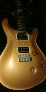 2002 prs Paul Reed Smith  guitar gold Gibson fender