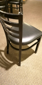 Used restaurant Steel chairs and equipments