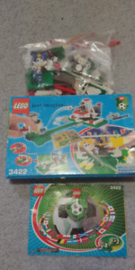 LEGO SOCCER / FOOTBALL 3422 - SHOOT 'N SAVE - COMPLETE IN BOX.