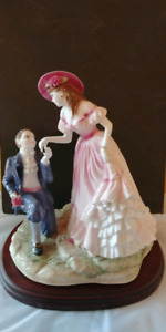 Royal worcester Age of Romance With Love  signed by A.J.WADE