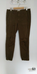 Golden by TNA army green cargo slim cargo pants from Aritzia 10