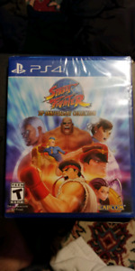 Street fighter 30th anniversary collection ps4 brand new