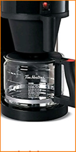 Tim Hortons Coffee Carafe and filter conainer