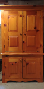 Armoire deux corps -  Two section Armoire