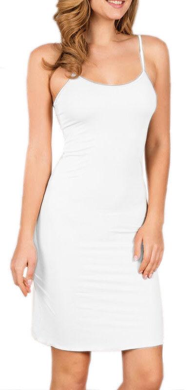 Damen Unterkleid Blickdicht Unterrock Unterwäsche Nachthemd Jupon Anil LIngerie