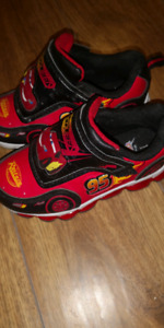 McQueen running shoes boys size 10 - worn once