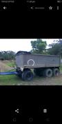 Tri-axle aluminium tipper dog Trailor Belmont Lake Macquarie Area Preview