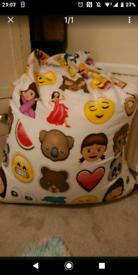 Emoji beanbag