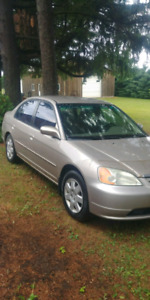 02 Honda Civic For Sale