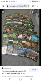 Large collection of wildlife encyclopedias complete