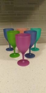 wine glasses and snack bowls
