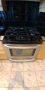 Kenmore slide in gas top range