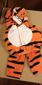 3-6 month Halloween costume. Tiger costume from Carters
