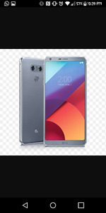 2 weeks old lg g6 brand new condition