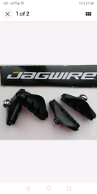 Jagwire Quality bike cycle brake Pads / Shoes Fits Shimano and Sram br