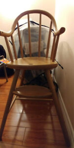 Toddler chair (wooden) in good condition