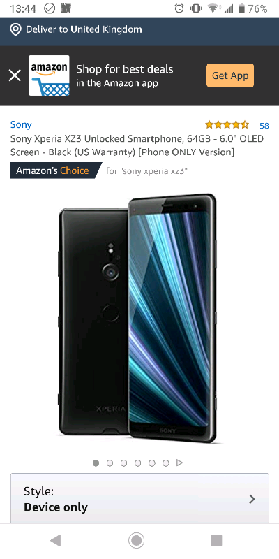 new product 075db 3a989 Sony Xperia XZ3 | in York, North Yorkshire | Gumtree