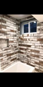 Brick look tile