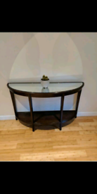 Coffee table and console unit