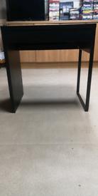 Micke Black /brown small desk