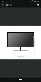 AOC Q3279VWF 31.5 Inch Quad HD MVA LED PC Monitor PC Screen HDMI VGA D