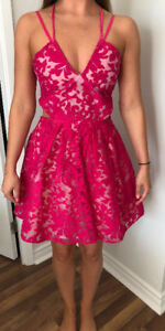 Miss Guided Pink Dress