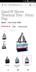 Thirty one perfect beach bag!