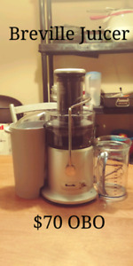 Breville Juicer - Barely Used!