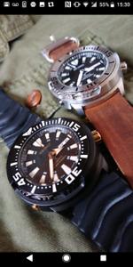 Seiko SRP637 SRP641 Baby Tuna - Citizen Hamilton Tissot