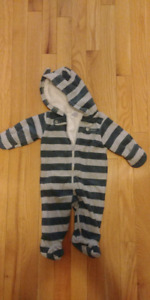 3 month bunting suit