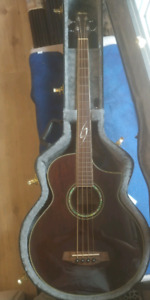 Ibanez Exotic Wood Series Acoustic Bass!