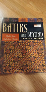 Quilt book - Batiks and Beyond