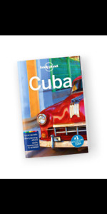 Lonely Planet Guide Cuba - last edition