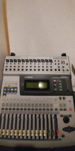 Mixers, rack effects, rack and toy synth