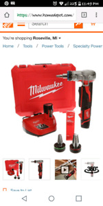 M12 12-Volt Lithium-Ion Cordless ProPEX Expansion Tool Kit