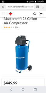 26 gallon compressor
