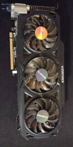 Gigabyte Raedon R9 270x 2gb Windforce Ed. Graphics Card for Sale