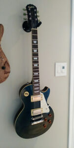 Les paul standard epiphone 1997 rare blue electric guitar