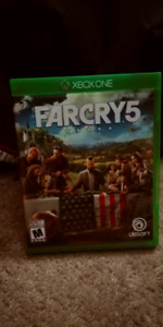 New FarCry 5 - Xbox One + warranty
