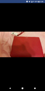 Red coach iPad case new with tags